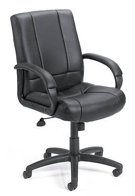Lot Of 6 Black Caresoft Conference Room Table Office Chairs