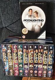 DVD boxsets limited edition collectors j.a.g commanders edition season 1-10+ rare out of print moonl