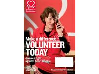Volunteer Recruiter. Voluntary BHF Furniture and Electrical