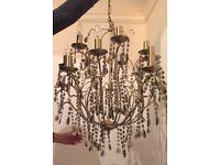 Stunning 15 arm chandelier