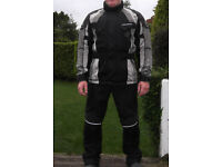 Bering Textile motorcycle jacket (large) and trousers (large/reg)