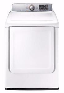Sécheuse électrique 7,4 pi³ blanc Samsung ( DV45H7000EW )
