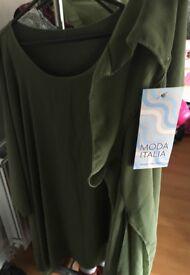 Women Kaftan, Brand NEW, Chiffon, one size, unwanted gifts, Italian brand