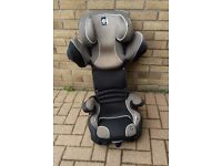 Kiddy CruiserFix Pro Car Seat. Suit child 4-12 years. Good clean example