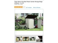 Large garden/outdoors storage unit brand new