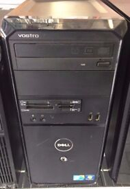 DELL VOSTRO 230,4GB MEMORY, 500GB HARD DRIVE, INTEL CORE 2 DUO,WINDOWS 7