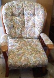 Ercol type 2 seater settee and armchair