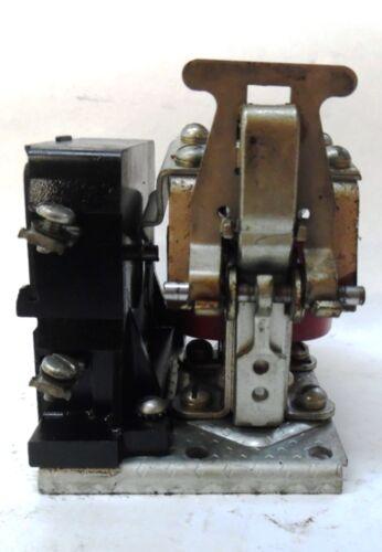 CUTLER HAMMER MOTOR STARTER MODEL 6, 9575ED43, RELAY NO. 796