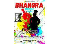 Bhangra Dance Fitness Classes Glasgow (different to Bollywood / classical Indian dancing)