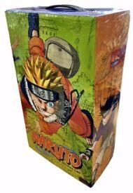 NARUTO 1-27 MANGA BOX SET