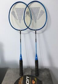 Two badminton rackets, immaculate,quick sale for both at only £10,I've some other rackets available.