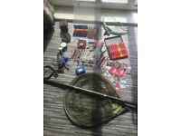 Fishing tackle and pole