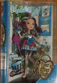 Ever After High Rebel Madeline Hatter Doll - New Boxed