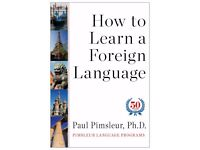 Pimsleur language learning courses