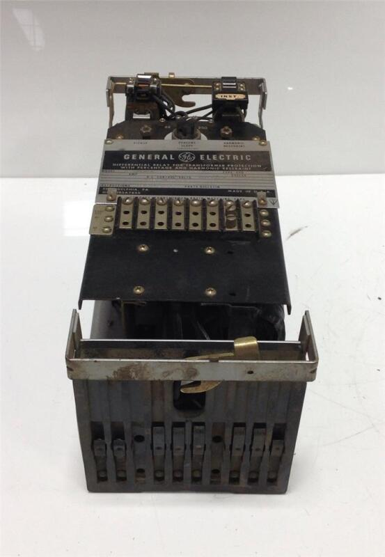 GENERAL ELECTRIC DIFFERENTIAL RELAY 12STD15B5A