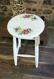 Kitchen stool, shabby chic, rustic style