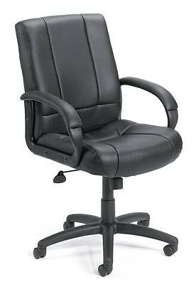 Lot Of 12 Black Caresoft Conference Room Table Office Chairs