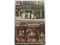 Two 'Edwardian Collection' jigsaw puzzles for sale.