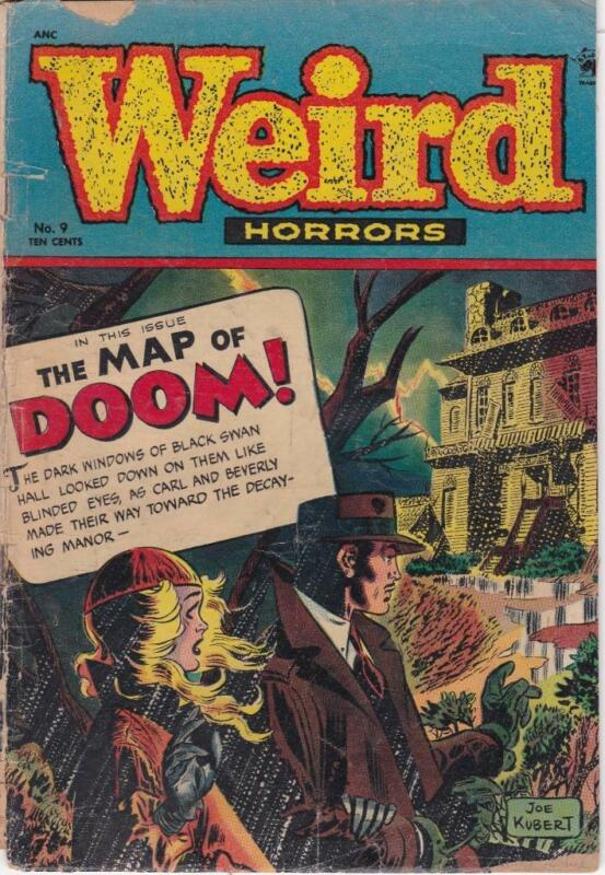 Weird Horrors  #9: StJohn Comics (1952)