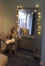Beautiful Antique-style Silver Mirror
