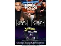 Hair in Motion Expo 2017 featuring Tokyo Stylez and Anthony Cutz