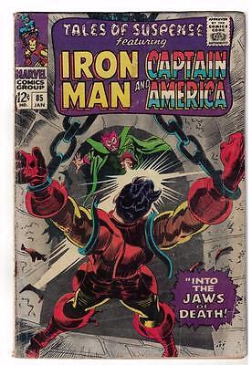 Marvel Comics  TALES OF SUSPENSE  #85 VG- 3.5  Captain america