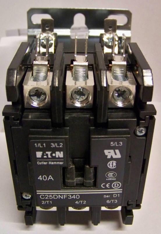 EATON Contactors - Definite Purpose C25DNF340T