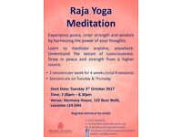 FREE Meditation Course (Starts 3rd October, 7.00pm - 8.30pm)