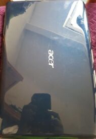 Blue Acer 15.6 inch Laptop, 500GB