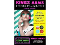 FRIDAY 23rd MARCH - 60s 70s SOUL / REGGAE / MOTOWN with DOUBLE BARREL – FISHPONDS
