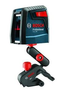 NEW Bosch GLL 30 Self Leveling Cross Line Laser