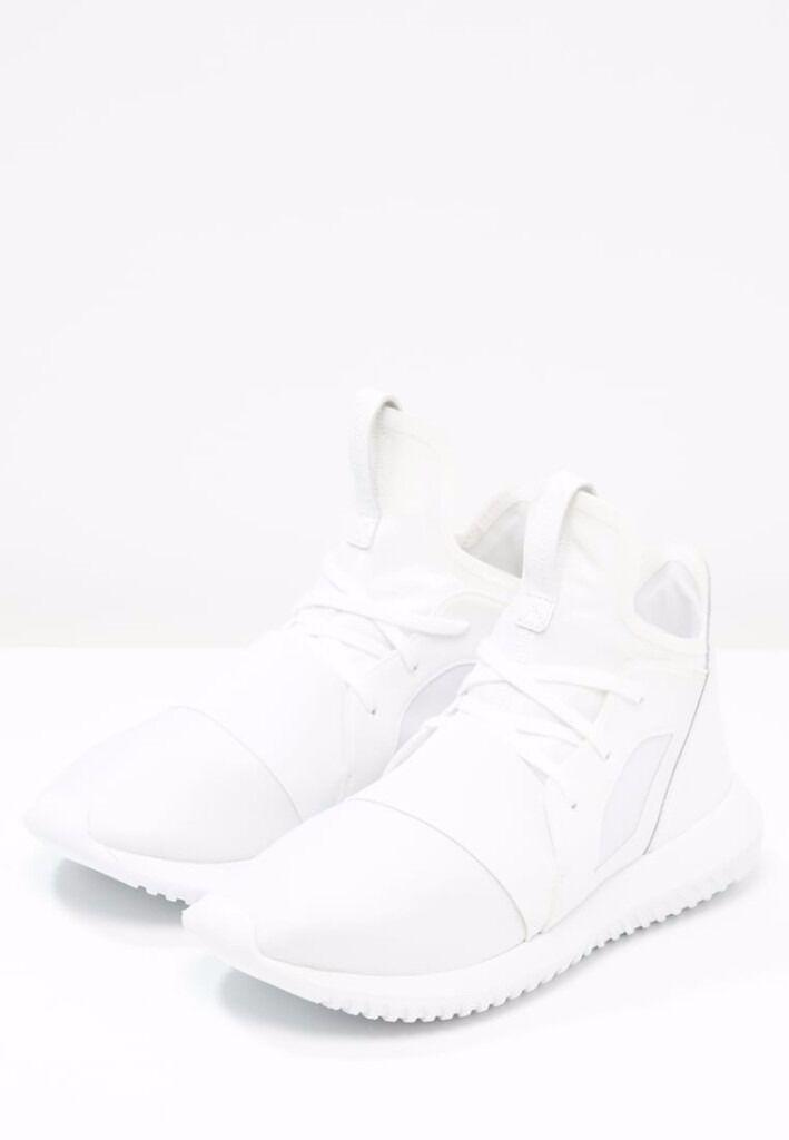 adidas Originals TUBULAR DEFIANT trainers 6 UK WHITE