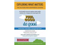 The Action for Happiness Course - exploring what matters starting on 26 Apr 2017 at Chapter
