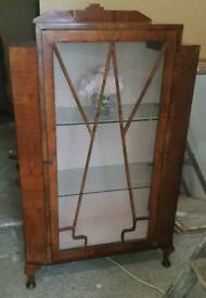 Mid-century Display unit cabinet