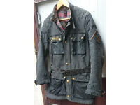 VINTAGE BELSTAFF TOURMASTER TROPHY WAX MOTORCYCLE JACKET