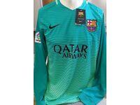 Football shirts Barcelona Real Madrid