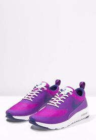 NEW Nike Thea Air Max running trainers UK 4.5 purple pink