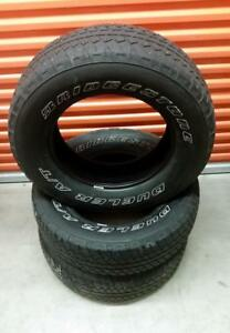 (Y7) 3 Pneus Ete - 3 Summer Tires 255-70-18 Bridgestone