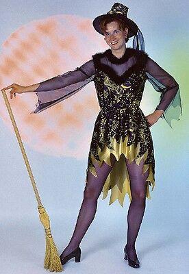 Hokus Pokus Kostüm Gr. 40 + 44 Hexenkleid Hexe Kleid Kostüm Halloween - Hokus Pokus Kostüm