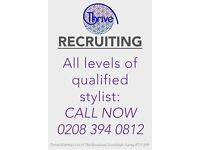 Hairdressers Full & Part Time required for family hair salon in Stoneleigh near Epsom