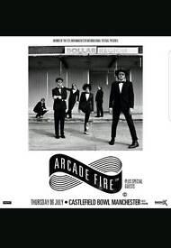 Arcade Fire @ Castlefield Bowl