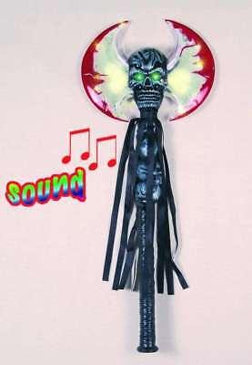 Halloween Beil blinkend mit Sound Horror Halloweenbeil Waffe Axt 125822113