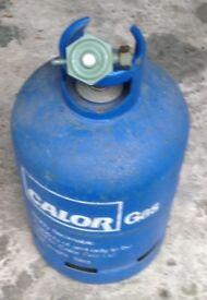 15 Kg Calor Gas Bottle in Blue & Type 3080 Valve