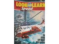Vintage 1970's 'Look and Learn' magazine Edition Number 834