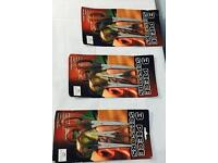 Multi purpose 3 packs of scissors, brand new, quick sale at only £5