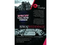 Riwaj Weddings | Asian Photographer | Videogrpahy | Stage | Lighting | Provided DJ