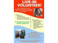 Live-in volunteer opportunity for Son-Rise play therapy program in Northern Ireland.
