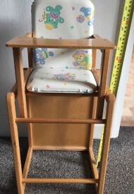 VINTAGE Dolly High Chair