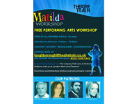 FREE PERFORMING ARTS WORKSHOP for children age 6-18 years 7th Feb 2018