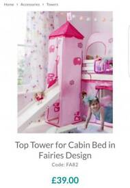 TOWER for MID SLEEPER BED - NEW IN BOX